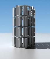 wind turbine 3dsmax
