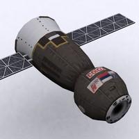 maya soyuz capsule