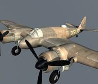 Bristol Beaufighter.c4d