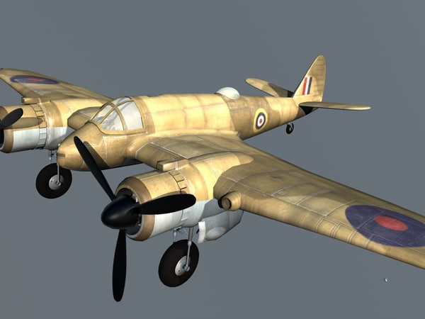 3d bristol beaufighter bomber - Bristol Beaufighter.c4d... by Tomas Torok