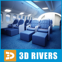 First class interior by 3DRivers