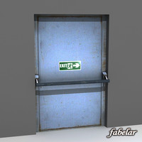 3d emergency exit door