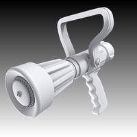 hose nozzle 3d max