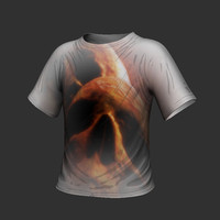 t-shirt shirt obj