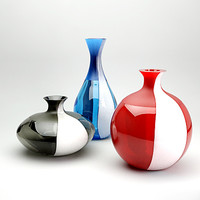 Vases: Monofiori a fasce (VENINI)