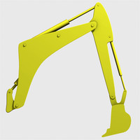 Mechanical digger arm