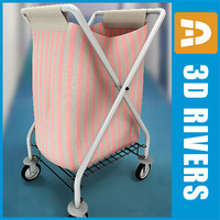 Laundry cart 02 by 3DRivers