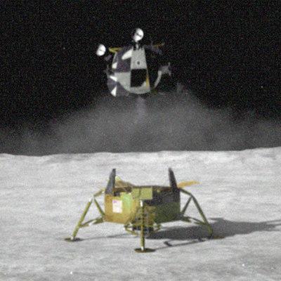 parachute module moon landing - photo #18