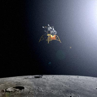 parachute module moon landing - photo #40