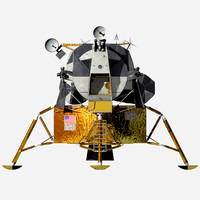 3ds lunar landing module
