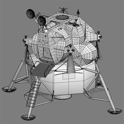lunar landing module drawings - photo #41