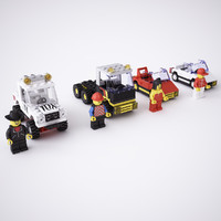 LEGO street vehicles