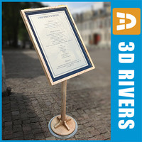 3ds max menu board