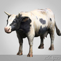 Cow lowpoly