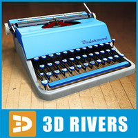 Typewriter 03 by 3DRivers