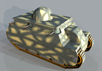 3ds tanks ww1