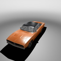 3d x 1969 charger dodge