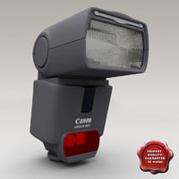 3d model canon speedlite 430ex