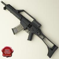 3d realistic g36ke model