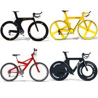 4 bikes 3d 3ds