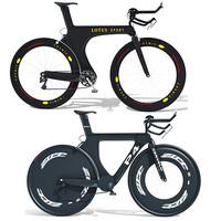 2 bikes 3d model