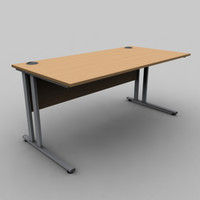 Rectangular Desk A