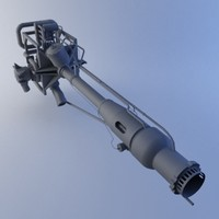 3ds max rocket engine