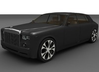rolls royce phantom 3d model