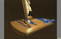 3ds max cricket bat