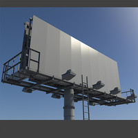 3d billboard realistic advertising
