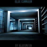 3dsmax unique blue corridor