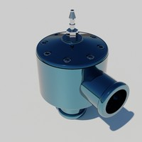 dump valve 3d model