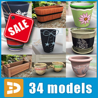 Flowerpot collection by 3DRivers