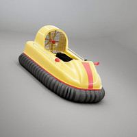3d 3ds hovercraft boat craft