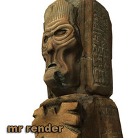 ancient statue 3d 3ds