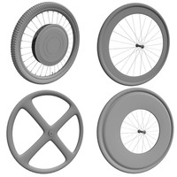 4 Bike Wheels