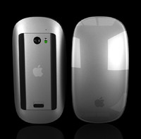 3d model apple magic mouse -