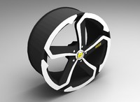 3d model dotz hanzo auto rims