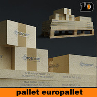 pallet and box
