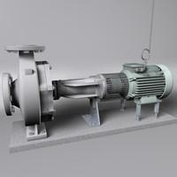 c4d ksb etanorm centrifugal pump