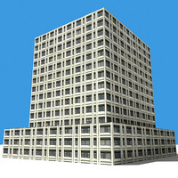 3ds max building