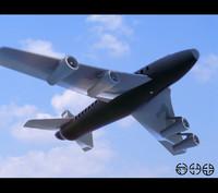 airplane jet 3d model