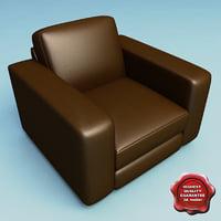 3d armchair v12 model