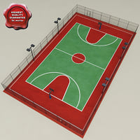 Basketball Court V1