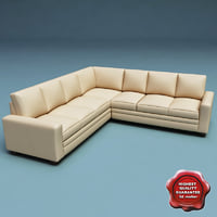 sofa v23 3d model