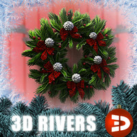 Christmas wreath by 3DRivers