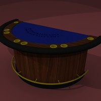 table poker card 3d 3ds