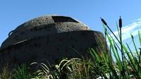 3d model bunker