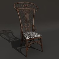 3d style chair