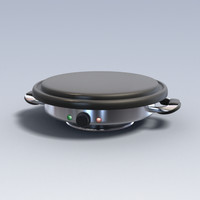 3d model of photo realistic cooker